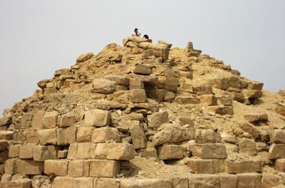 Храм Солнца Ниусерра в Абусире