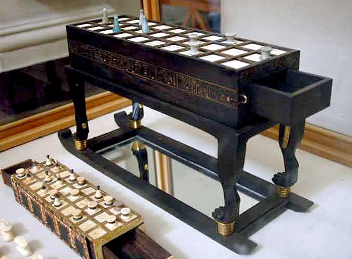 Игральные доски. Гробница Тутанхамона.
