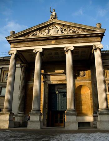 Эшмоловский музей искусства и археологии в Оксфорде.