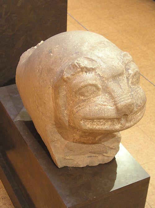 Коптосский лев. Эшмоловский музей.