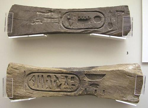 Деревянный крепеж блоков. Эшмоловский музей.