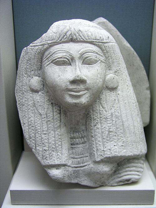 Голова женщины. Эшмоловский музей.