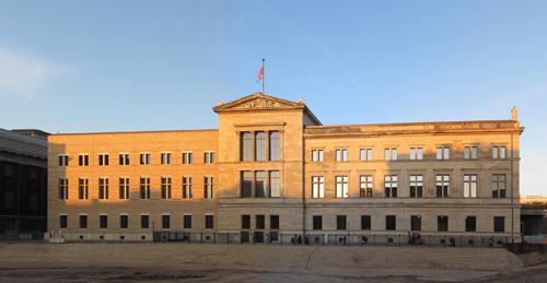 Новое здание египетского музея в Берлине