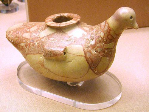 Ваза в форме птицы. Британский музей