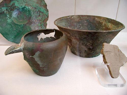 Бронзовые вазы. Британский музей