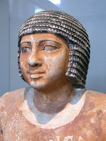 Статуя провинциального чиновника Nenkheftka. Британский музей
