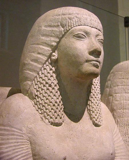 Статуя супружеской пары. Британский музей