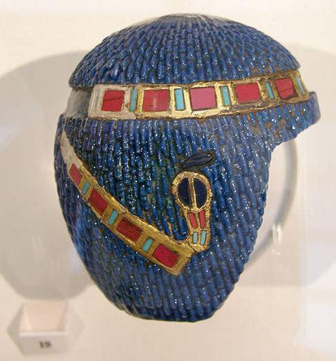 Царский парик с диадемой. Британский музей