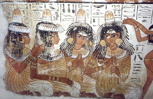 Рельеф с изображением музыкантов. Британский музей