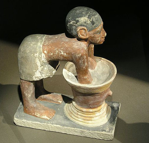 Статуэтка пивовара. Каирский музей .