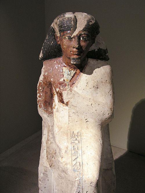 Статуя Аменхотепа II. Каирский музей .