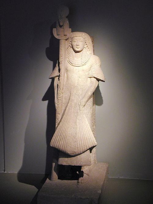 Статуя Небре. Каирский музей .