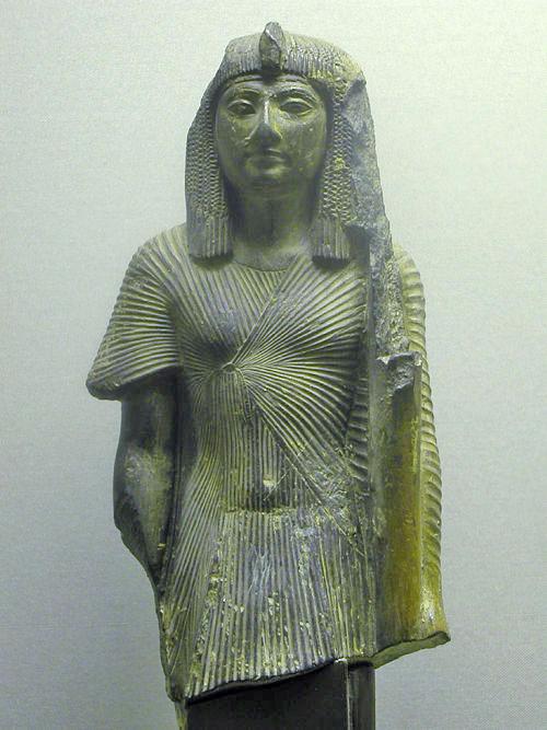 Статуя фараона Сети I. Каирский музей .