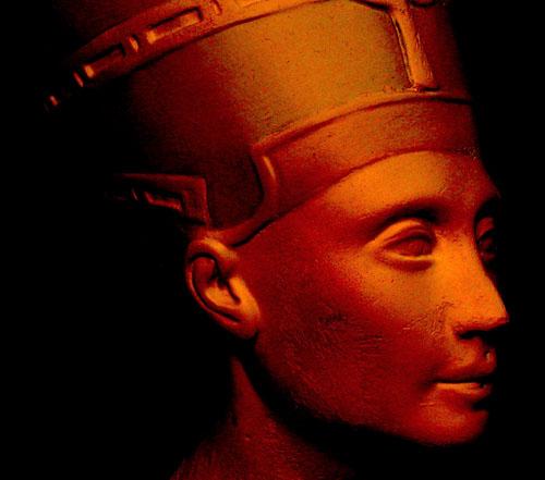 Нефертити. Каирский музей .