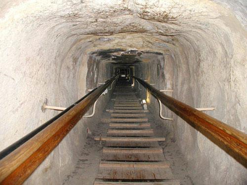 Продолжение Восходящего коридора. Пирамида Хуфу (Хеопса).