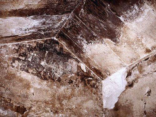 Плиты потолка Камеры Царицы. Пирамида Хуфу (Хеопса).