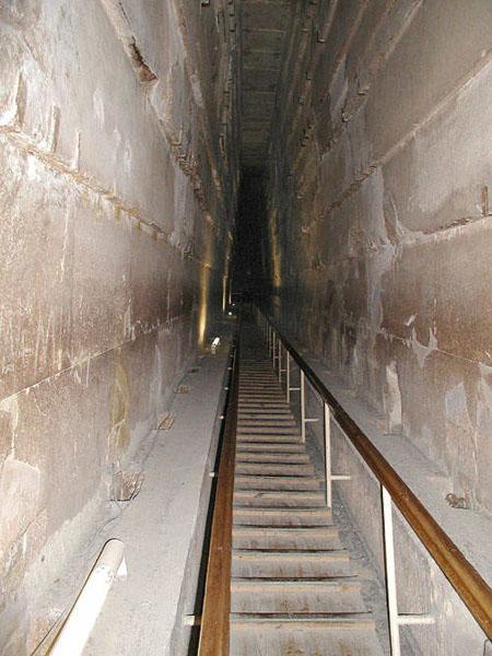 Большая галерея. Пирамида Хуфу (Хеопса).