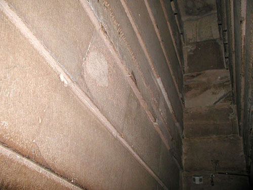 Боковые плиты Большой галереи. Пирамида Хуфу (Хеопса).