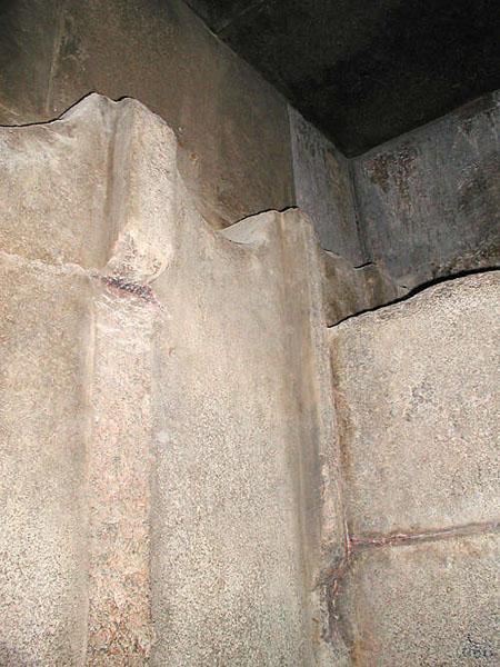 Западная стена предкамеры. Пирамида Хуфу (Хеопса).