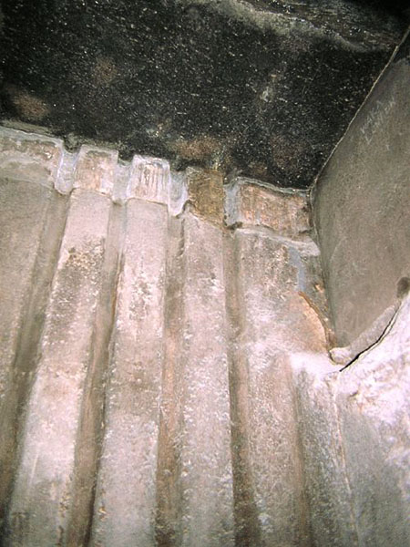 Южная стена предкамеры. Пирамида Хуфу (Хеопса).