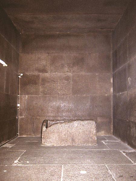 Гранитная Камера Царя. Пирамида Хуфу (Хеопса).