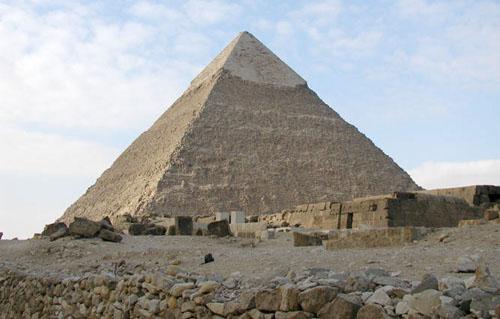 Пирамида Хафре (Хефрена).