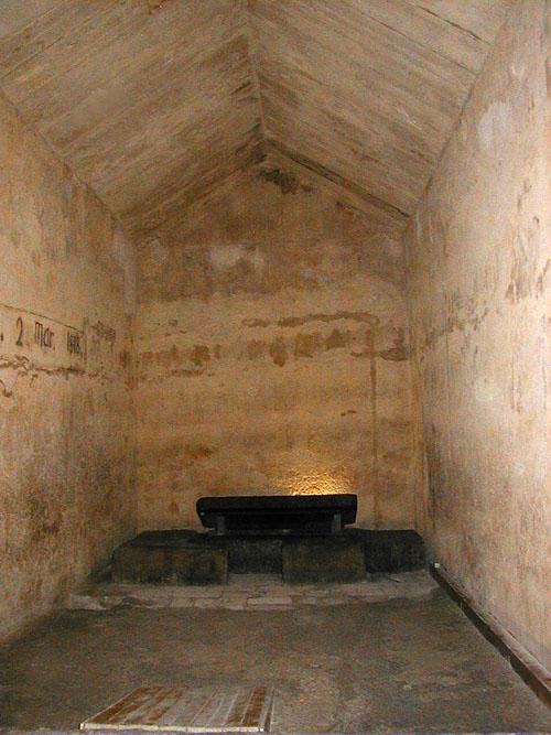 Внутри погребальной камеры. Пирамида Хефрена.