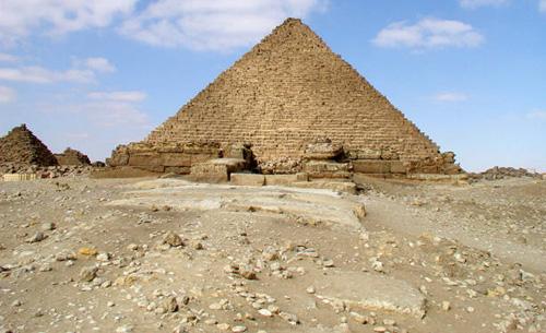 Дорожка для заупокойных процессий. Пирамида Микерина (Менкаура).