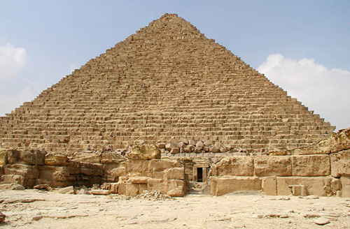 Заупокойный храм. Пирамида Микерина (Менкаура).