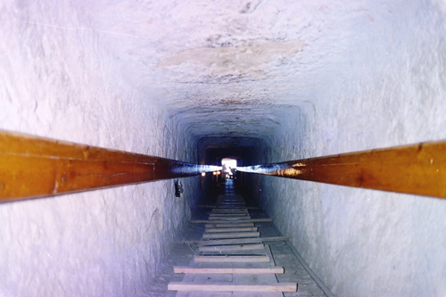 Понижающийся коридор. Пирамида Микерина (Менкаура).