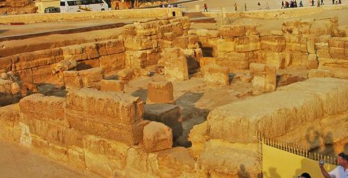 Храм Сфинкса. Вид с западной стороны.