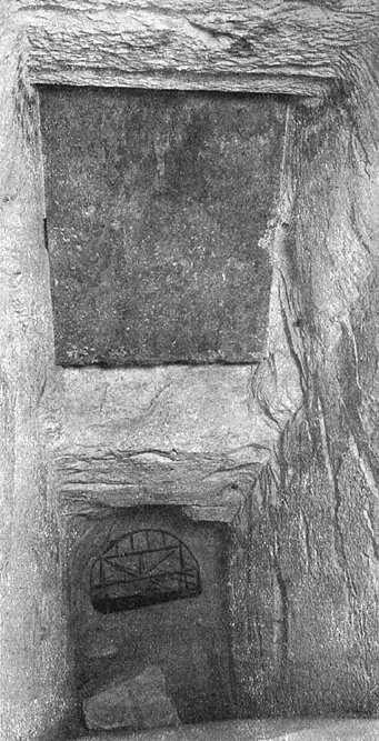 Место соединения двух коридоров. Пирамида Хеопса в 1909 году.