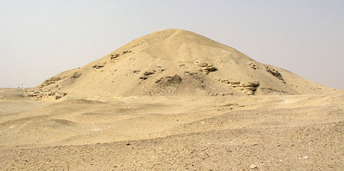 Пирамида Аменемхета I в Лиште