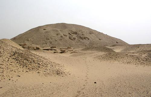 Пирамида Сесостриса I в Эль- Лиште