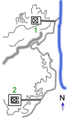 План расположения пирамид в Эль - Лиште