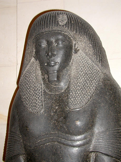 Крышка саркофага сына фараона Аменхотепа III. Музей в Лувре
