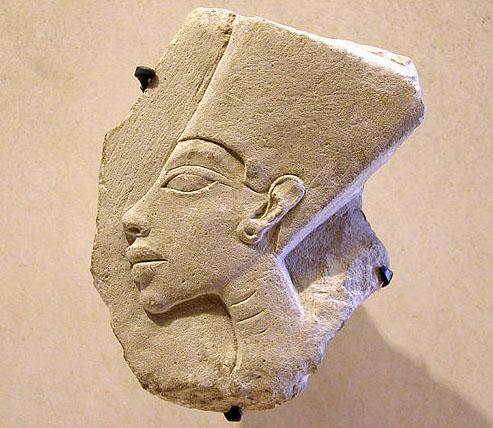 Рельеф Амарнского периода. Музей в Лувре