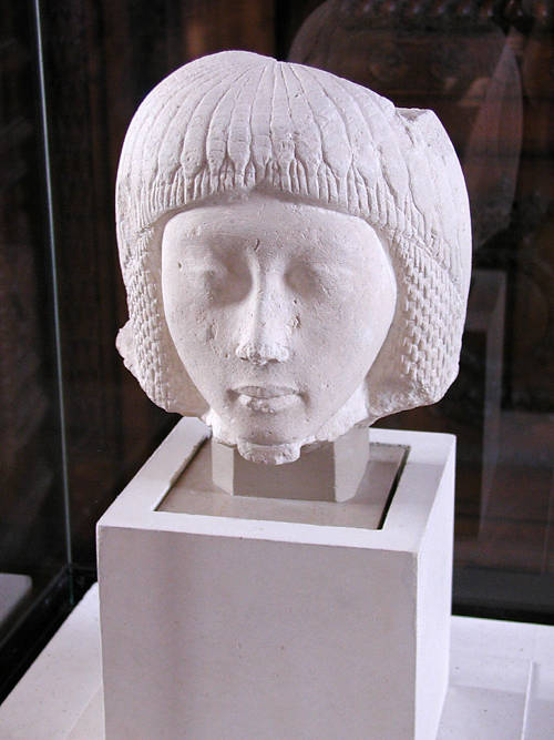 Голова юноши. Музей в Лувре