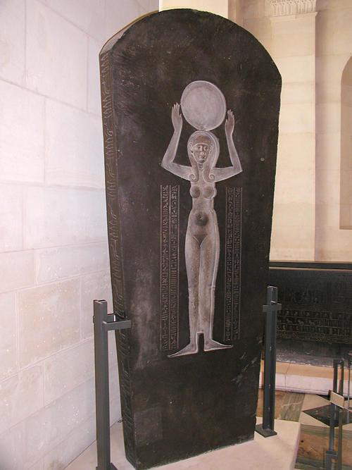Крышка саркофага Джедхора. Музей в Лувре