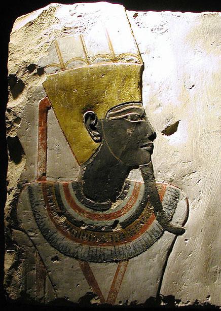 Рельеф фараона Тутмоса III. Музей в Луксоре