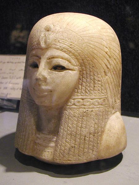 Канопа царицы Туи ( Tuyi). Музей в Луксоре