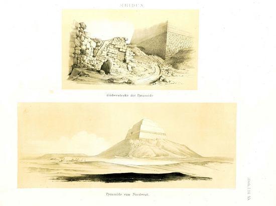 Каталог египетских пирамид Лепсиуса. Пирамида 65 в Мейдуме.