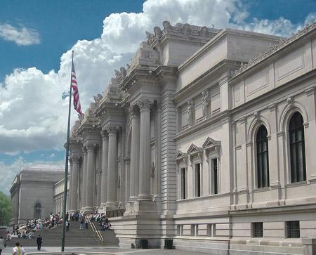 Здание Метрополитен - музея в Нью - Йорке. The Metropolitan Museum of Art.