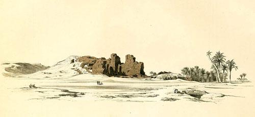 Пирамида Лепсиуса №1 в Абу-Раваш