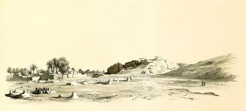 Зарисовка пирамиды Лепсиуса №1