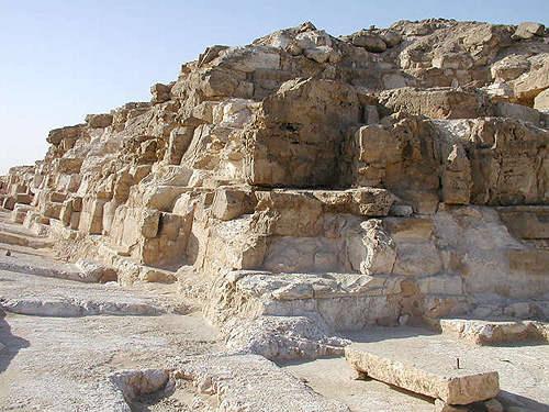 Угол пирамиды Джедефре