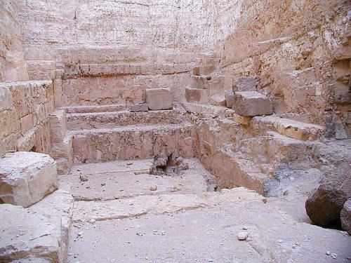 погребальная камера пирамиды Джедефре