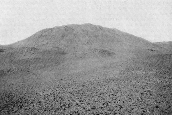 Пирамида Хабы до начала раскопок