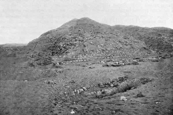 Пирамида Хабы. Вид с северо-востока