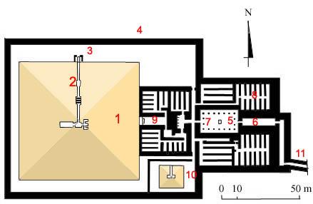 План пирамиды Тети.